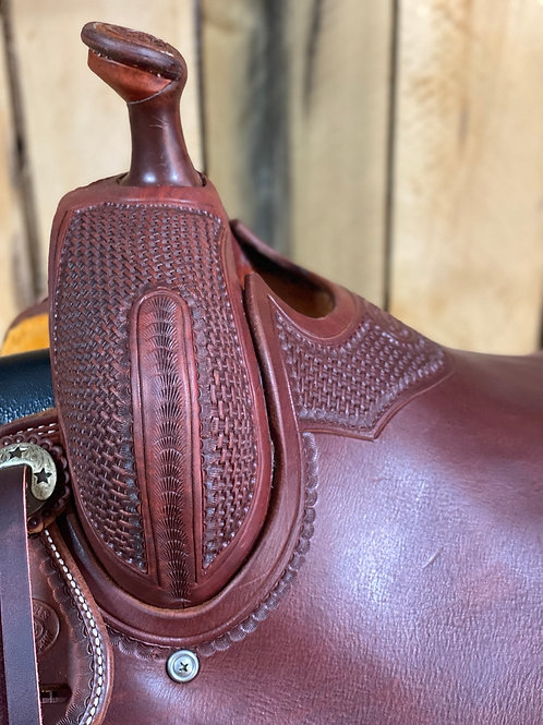 """New 16"""" Don Rich cowhorse"""