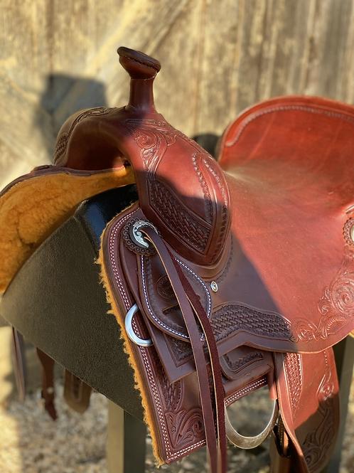 "15 3/4"" Don Rich cowhorse saddle"