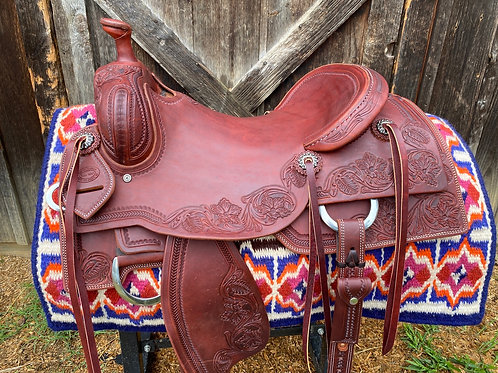 """New 16 1/4"""" Don Rich cowhorse"""