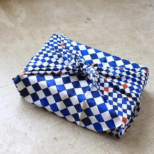 朝倉染布:撥水風呂敷ながれ 平織96