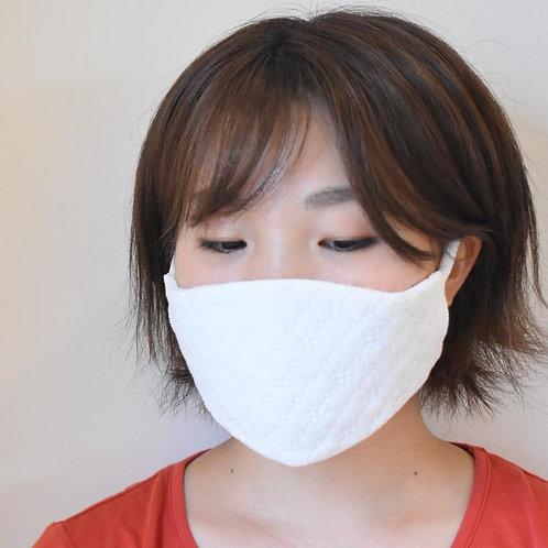 イヅハラ : 立体織ふわっふわっ美マスク - silk&silver -