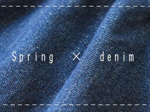 春のデニム特集