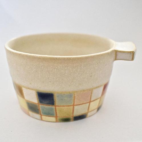 撫菜花工藝:モザイクタイル デザートカップ-古川真紀子-