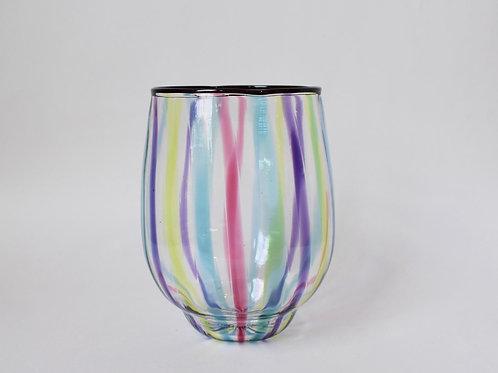ガラス工房メルハバ:ストライプグラス