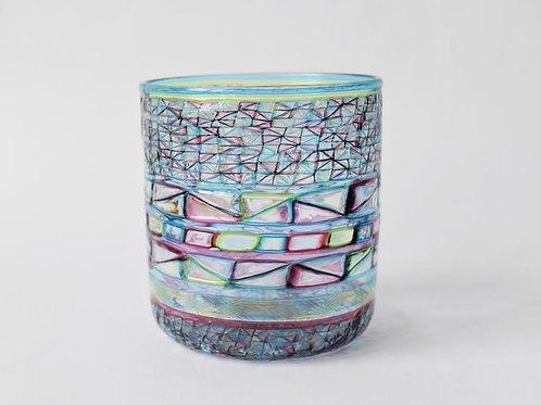 ガラス工房メルハバ: プリズムロックグラス