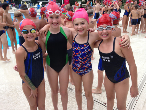 Blairwood Summer Swim Team