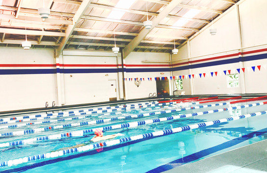 Indoor 25 Yard Pool at Blairwood