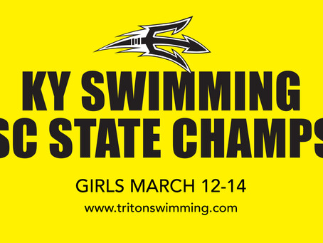 KY SWIMMING SC STATE CHAMPIONSHIPS