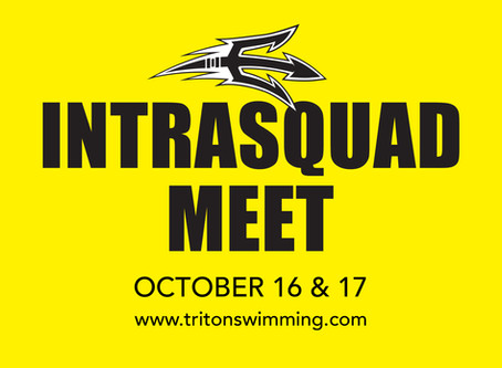 OCT 16-17 INTRASQUAD MEET - VIEW LIVE STREAM & RESULTS