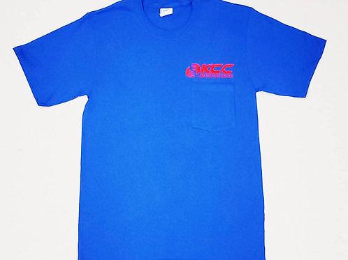 Uniform Blue Short-Sleeved T-Shirt ( Royal Blue or Navy)