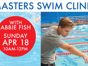 MASTERS SWIM CLINIC with Abbie Fish