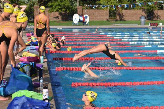 Triton Swimming Practice