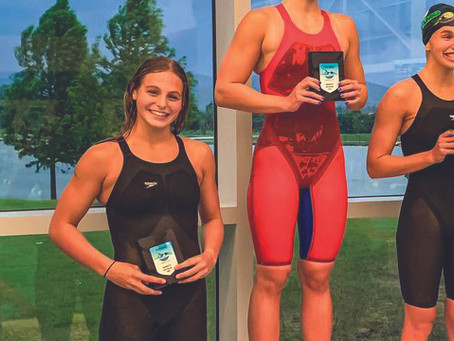 HANNA SCHMIDT MAKES NEW STATE RECORD & OLYMPIC TRIALS CUT AT STATE!