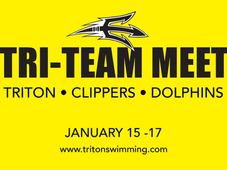 TRI- Meet w/ Clippers & Dolphin Swimming