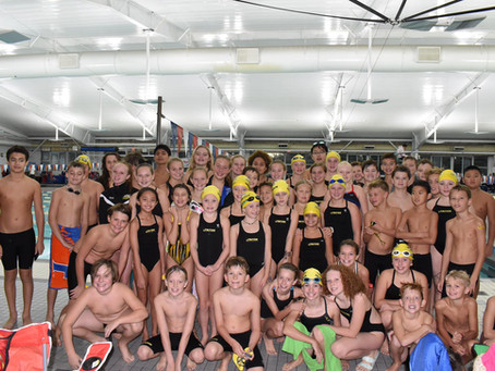 BEST TIMES & STATE CUTS FOR GOLD GROUP AT JACK THOMPSON MEET