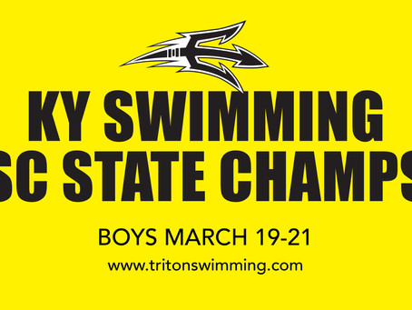 KY SWIMMING BOYS SC STATE CHAMPS