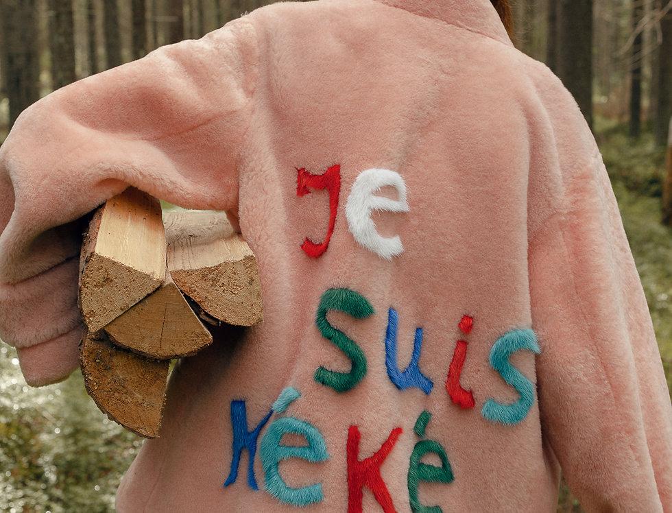 "Шуба из овчины ""je suis k é k é"""