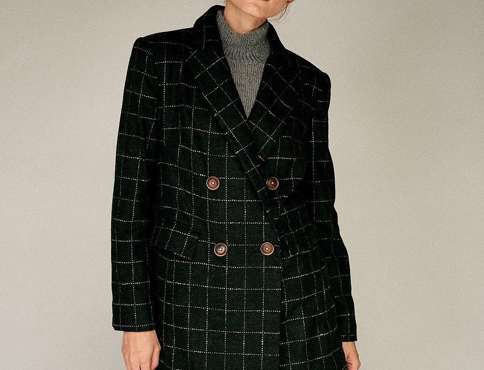 Тёмно-зелёный пиджак