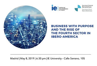 Business with purpose and the rise of the fourth sector in Ibero - America 