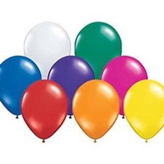 Jewel Assortment Latex Balloons