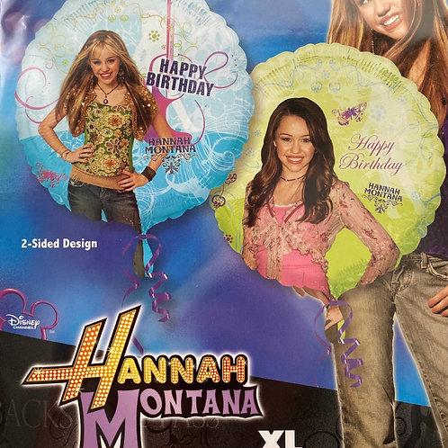 Hannah Montana Happy Birthday Foil Balloon