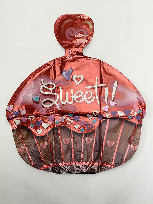 Sweet Cupcake Foil Balloon
