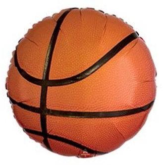 Basketball Foil Helium Balloon