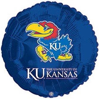 Kansas Jayhawks Foil Balloon