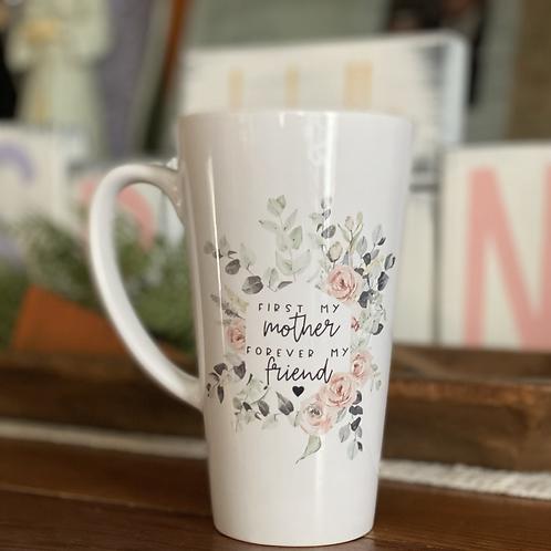 Mother Friend Latte Mug