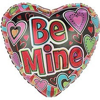 Be Mine Heart Foil Balloon