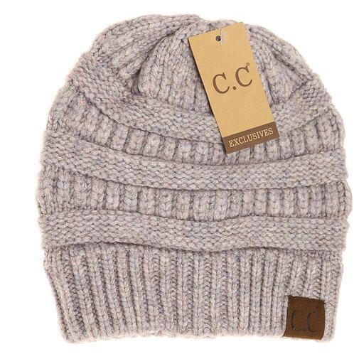 CC Mixed Yarn Beanie