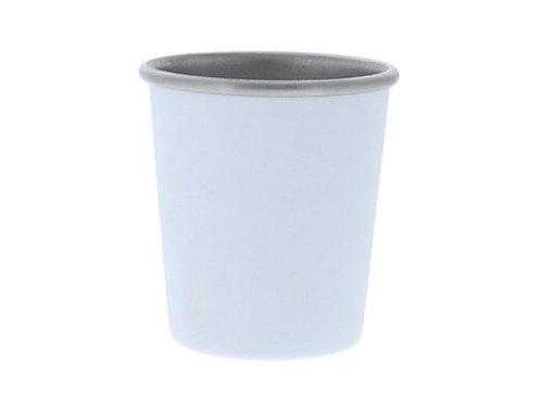 White Shot Glass