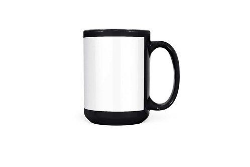 11 oz Black Printable Mug