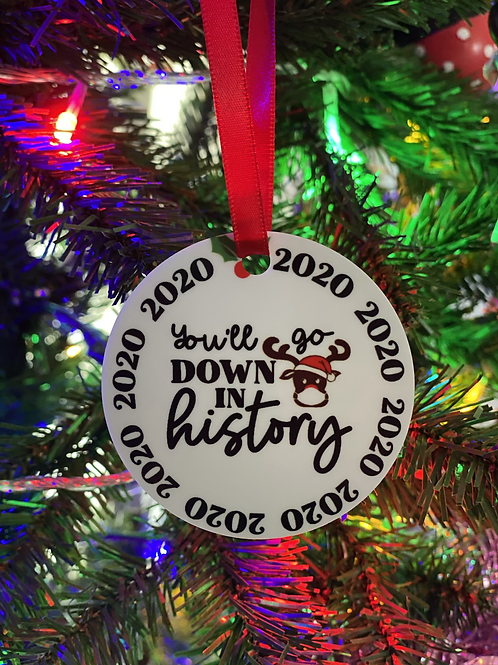 2020 Down in History Ornament
