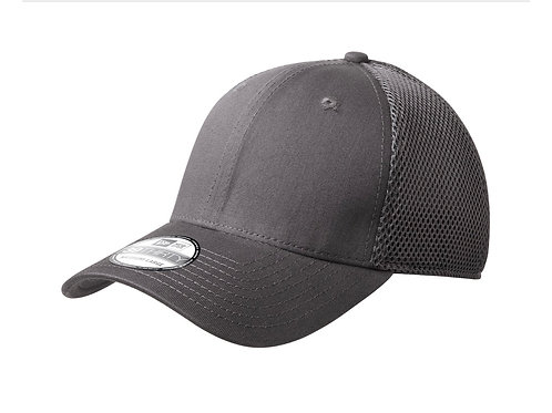 Stretch Mesh Fitted Hat