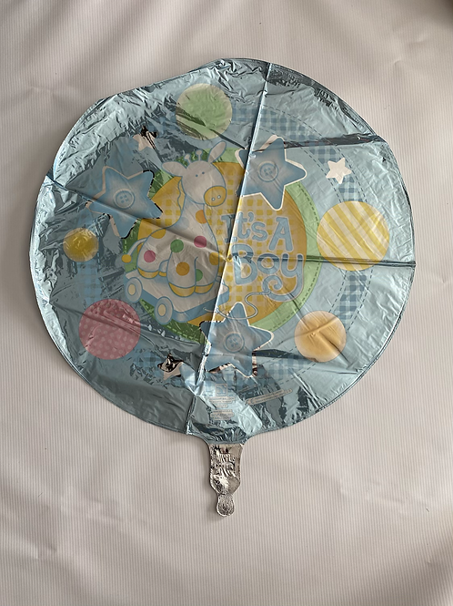 Its a Boy Buttons Foil Helium Balloon