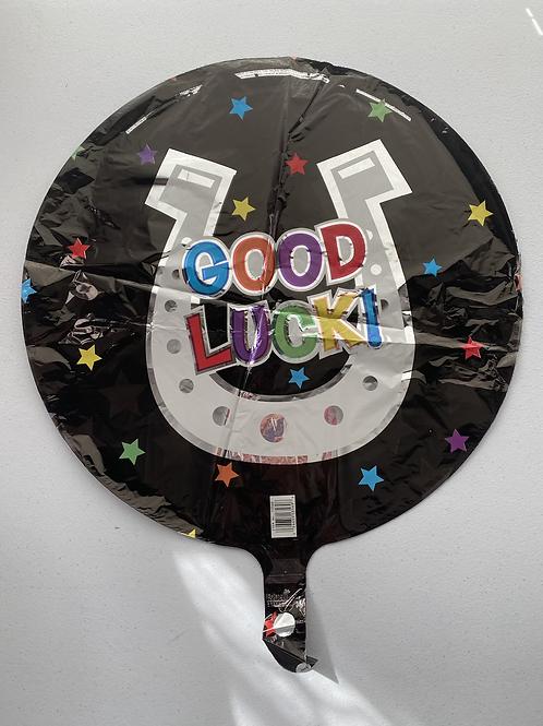 Good Luck Horseshoe Foil Balloon