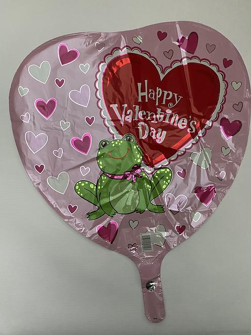 HVD Frog Foil Balloon