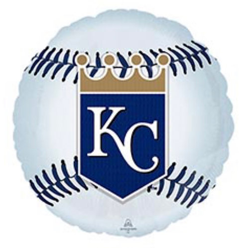 KC Royals Foil Balloon