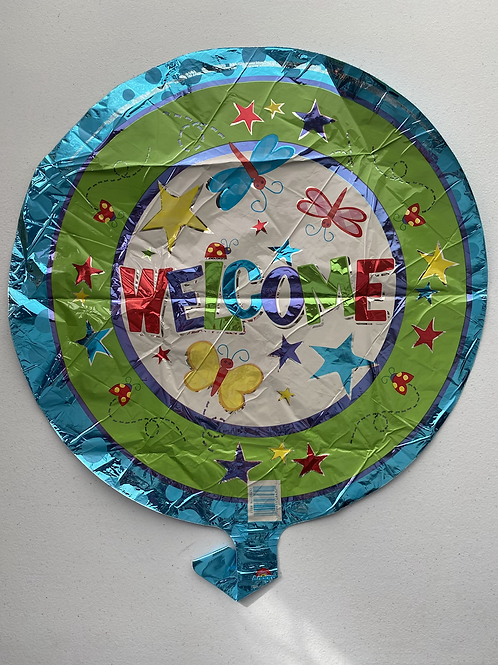 Welcome Insects and Stars Foil Balloon