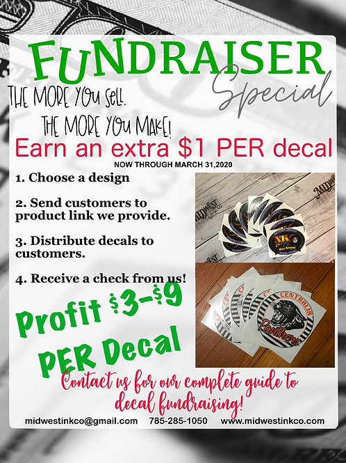 Decal Fundraising Guide