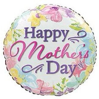 Mothers Day Bright Spring Morning Foil Balloon