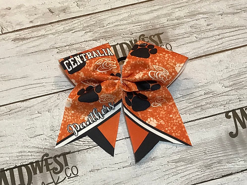 Panther Paw Power Cheer Bow