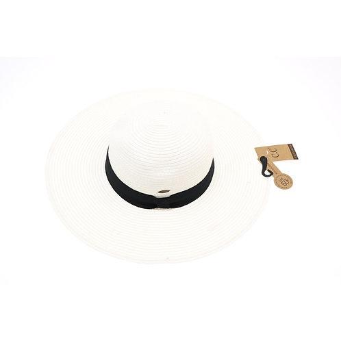 CC Beanie Paper Wide Brim Sun Hat