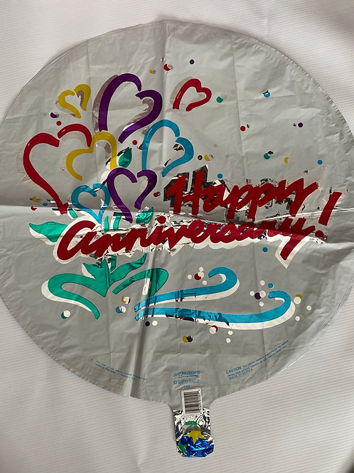 Happy Anniversary Classic Helium Balloon
