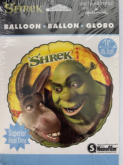 Shrek Foil Balloon