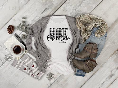 Hot Chocolate Weather **Screen Print Transfer**