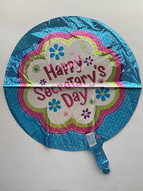 Happy Secretary Day Foil Balloon