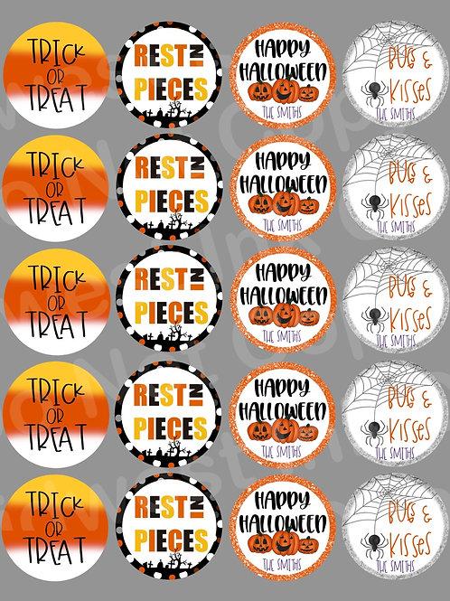 Halloween Treat Stickers