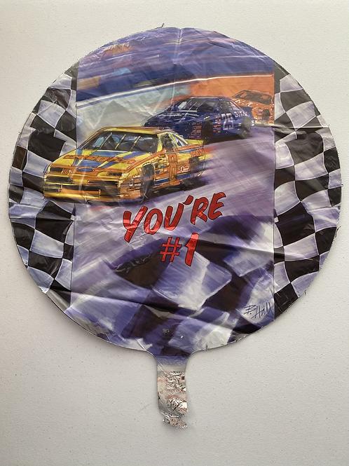 Copy of #1 Racing Foil Balloon